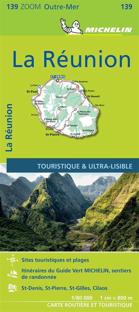 Carte Zoom La Réunion Michelin