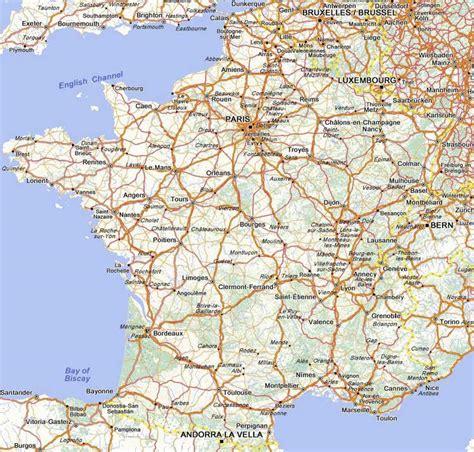Carte routière : France Nord, N°11724