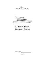 Carver Boat Manual