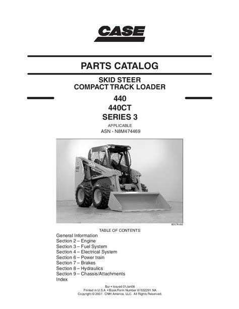 Case 440ct Owner Manual
