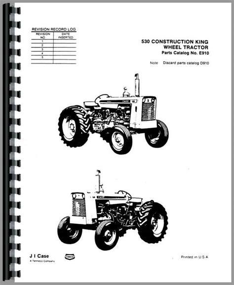 Case 530 Industrial Tractor Manual