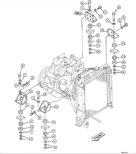 Case 9010b Excavator Parts Catalog Manual