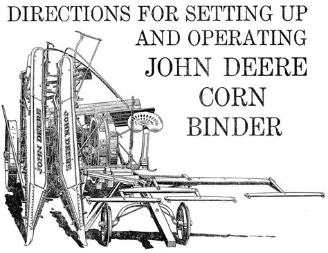 Case Ht Grain Binder Manual