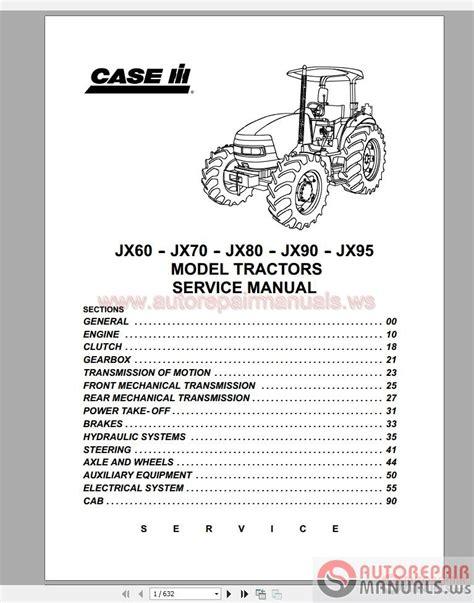 Case Ih Service Manual