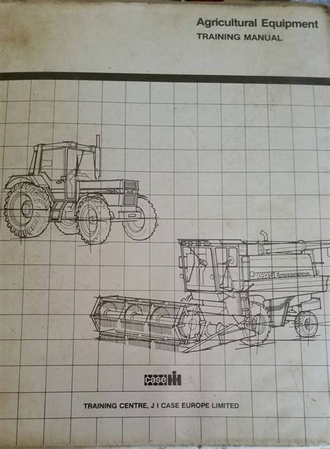 Case Tractor Training Manual