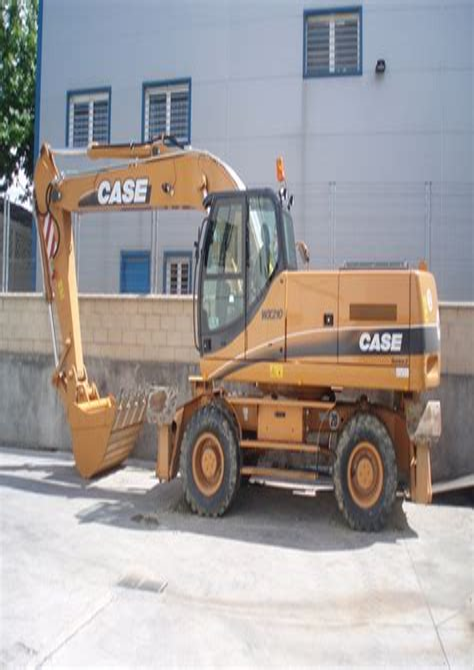 Case Wx210 Wheeled Excavator Parts Catalog Manual