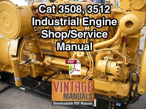 Cat 3508 Std Service Manual