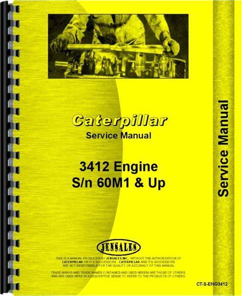 Caterpiller Engine 3412 Repair Manual