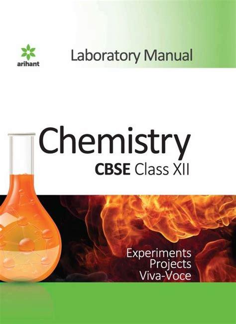 Cbse Class Xii Chemistry Lab Manual