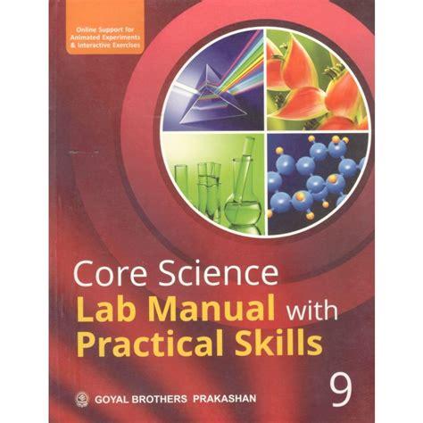Cbse Goyal Science Lab Manual Class 9