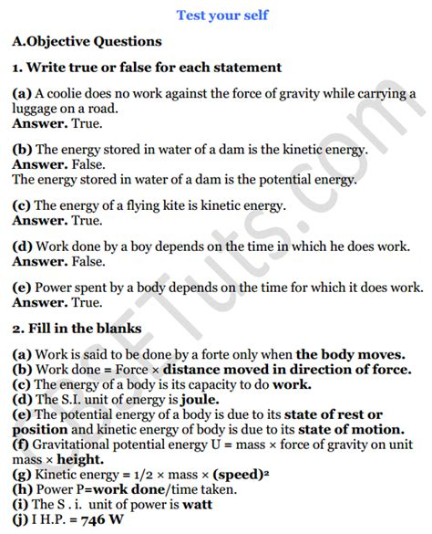 Cbse Guide For Class 8 Physics