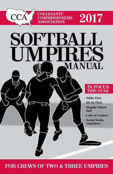 Cca 2017 Umpire Manual
