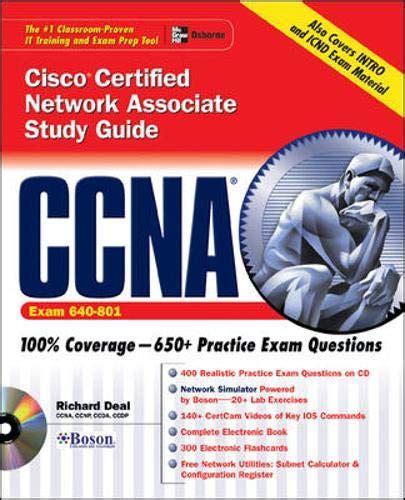 Ccna Cisco Certified Network Associate Study Guide Exam 640 801 Certification Press S