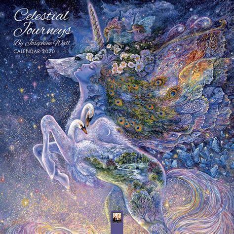 Celestial Journeys By Josephine Wall Wall Calendar 2020 Art Calendar