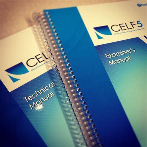 Celf5 Technical Manual