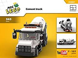 Cement Truck Instruction Only Moc Lego English Edition