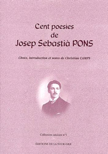 Cent poésies de Josep Sebastià Pons