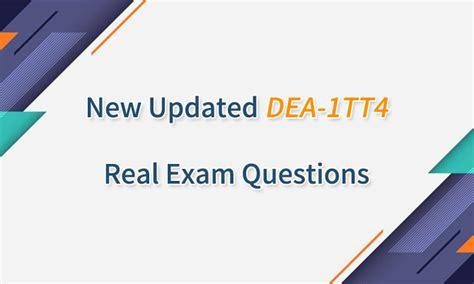 Certification DEA-1TT4 Training