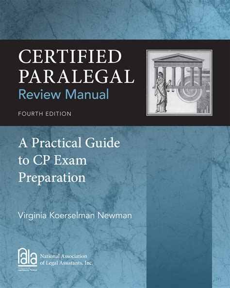 Certified Paralegal Review Manual 4th Edition
