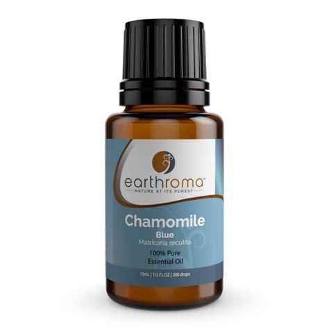 Chamomile Blue German Essential Oil 10 Ml 100 Pure Undiluted Therapeutic Grade Uncut Dark Blue By Plant Guru