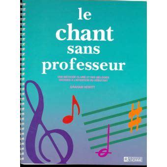 Chant Sans Professeur
