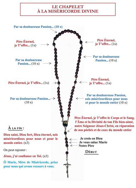 Chapelet Et Neuvaine A La Misericorde Divine Des Prieres Si Simples Des Graces Si Extraordinaires