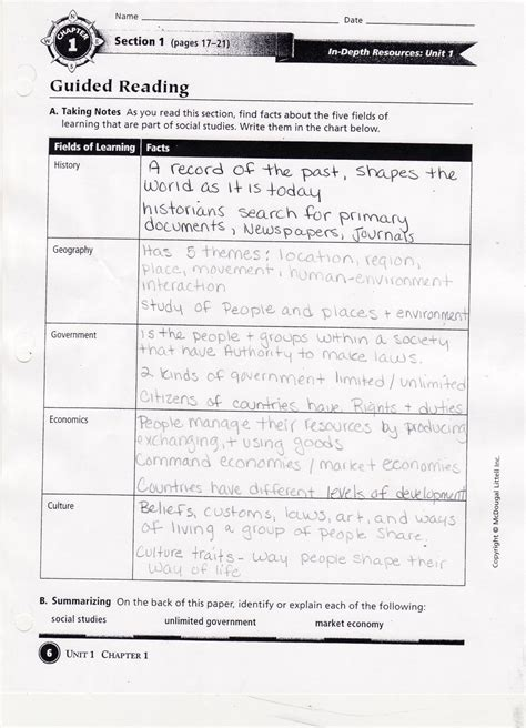 Chapter 19 Section 4 Guided Reading Answers