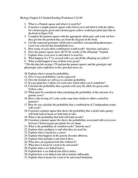 Chapter 8 Ap Biology Answers