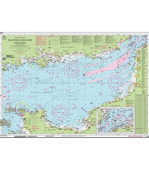Chart C12 Eastern English Channel Passage Chart C Charts