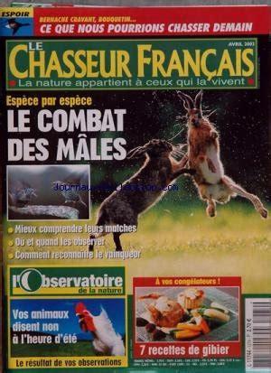Chasseur Francais No 1274 Du 01