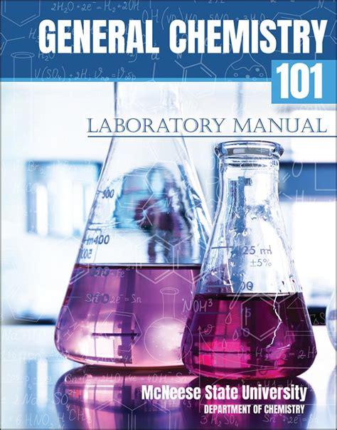 Chem 101 Lab Manual
