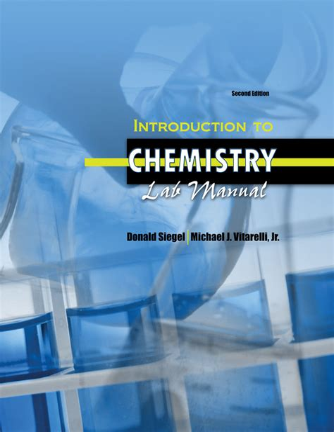 Chem 220 Uw Lab Manual