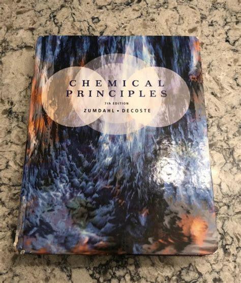 Chemical Principles Zumdahl 7th Edition International