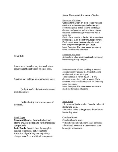 Chemistry Final Exam Study Guide From Holt