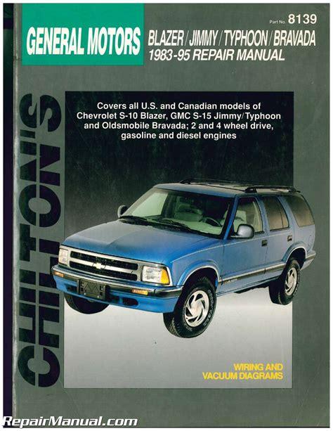 Chevrolet Blazer Owners Manual