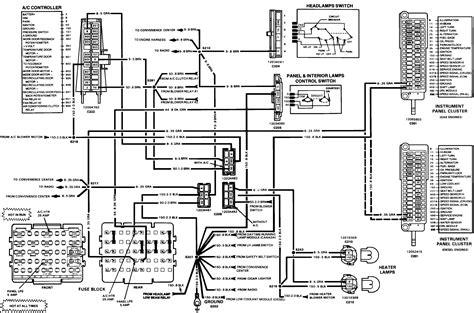Chevrolet C70 Wiring Diagram