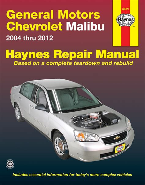Chevrolet Malibu Repair Manual 2004