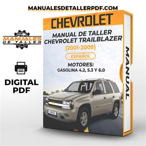 Chevrolet Trailblazer Taller Manual