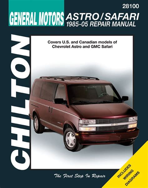 Chevy Astro Owners Manual