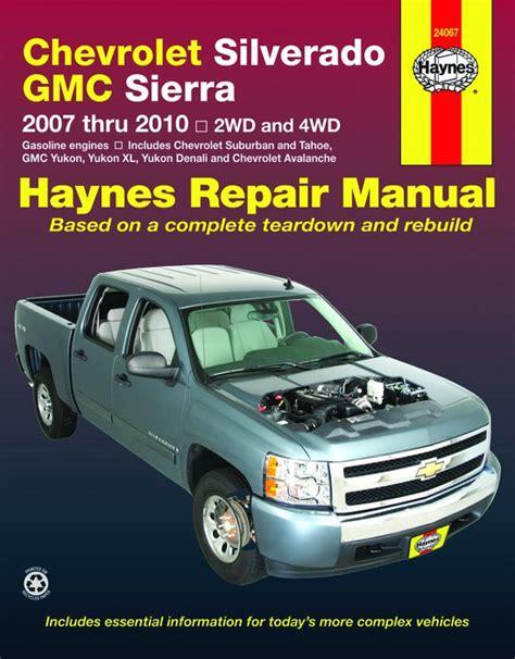 Chevy Silverado Repair Manual 2007