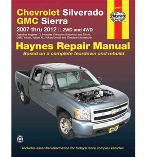 Chevy Silverado Shop Manual