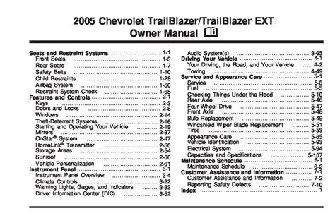 Chevy Trailblazer Factory Service Repair Manual 2017