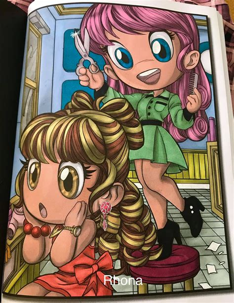Chibi Girls Grayscale An Adult Coloring Book Collection With Adorable Kawaii Characters Lovable Manga Animals And Delightful Fantasy Scenes