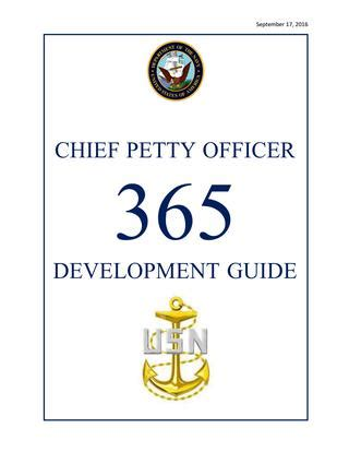 Chief Petty Officer 365 Development Guide