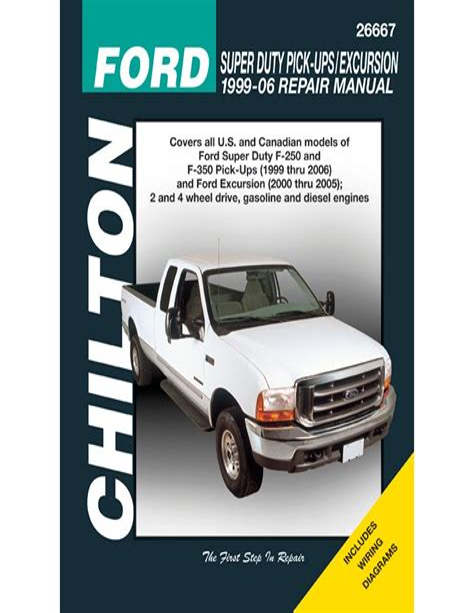 Chilton Automotive Repair Manual Ford Truck