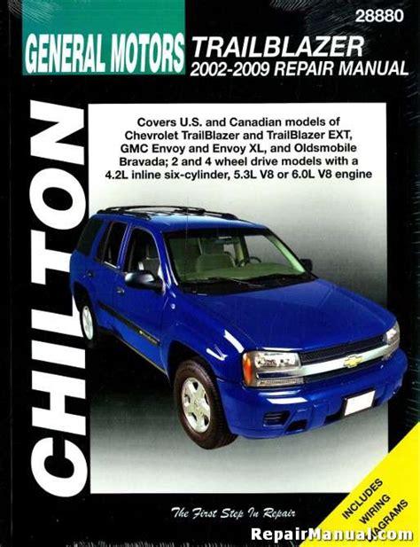 Chilton Chevy Trailblazer Manual