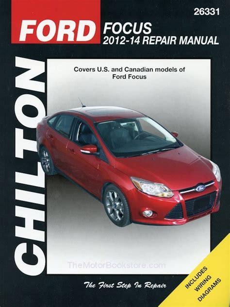 Chilton Ford Focus Repair Manual Torrent
