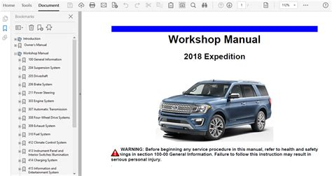 Chilton Manual 2018 Ford Expedition