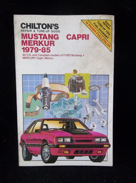 Chilton Mercury Repair Manual
