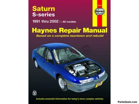 Chiltons Manual Saturn Sl1